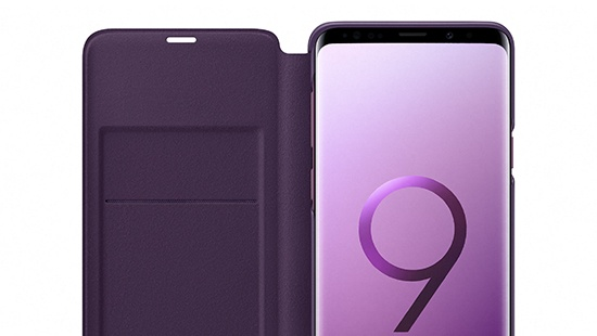 samsung galaxy s9 plus original led cover accessories from o2