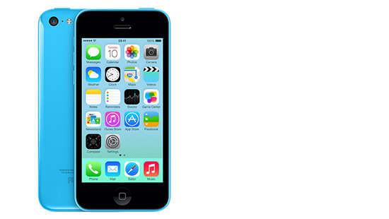 ... iPhone 5c is engineered to the brightest specifications, comes in five