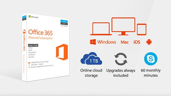 Work anywhere, with Microsoft Office 365