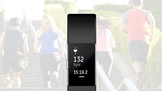 Track your heart rate and calorie burn