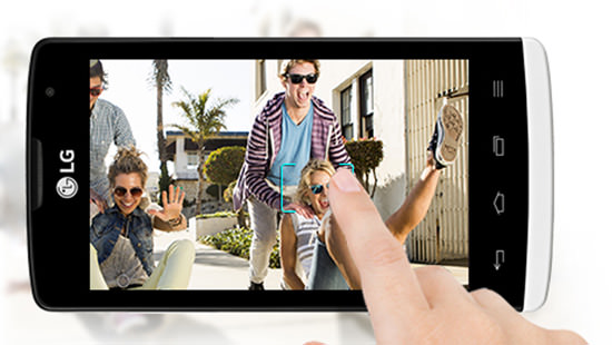 Take quicker pictures with touch and shoot