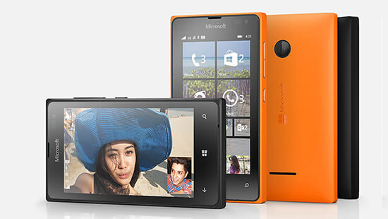 Take photos and make video calls on the front facing camera