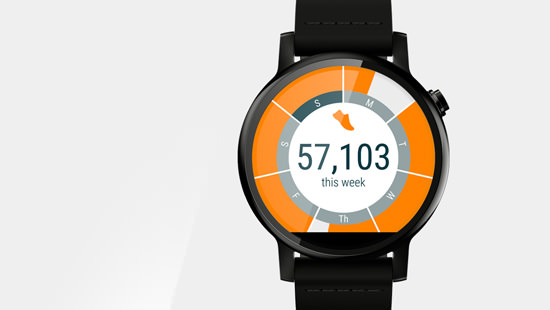 Keep track of your fitness training