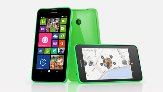 Speed along with the Nokia Lumia 635