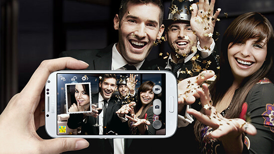 Capture all the action on the 13 megapixel camera