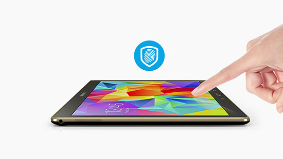 Stay secure with fingerprint recognition