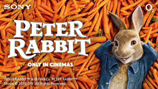 Win a family holiday or tickets to the Peter Rabbit<sup>TM</sup> premiere