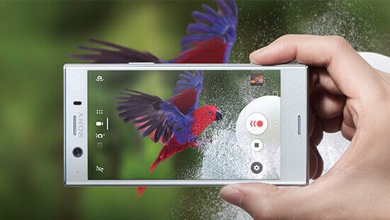 Image result for Sony Xperia XZ1 compact camera