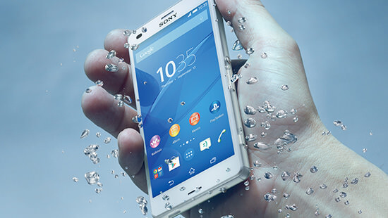 Get wet with the Sony Xperia Z3 Compact