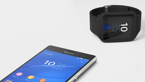 Log your life with Xperia Z3 and Sony SmartBand