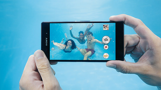Dive straight in with the Sony Xperia Z3