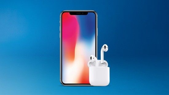 Get a free pair of AirPods, worth £159