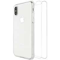 Skech iPhone Xs Max Protection 360 Bundle Pack Clear